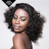 VV Bleach Knot Alibaba Express Remy Virgin Brazilian Human Hair Wigs For Black Women
