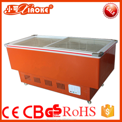 sc-538FB hotel fridge glass door fruit High Quality Butcher's Fresh Meat and Cold Food Refrigerator