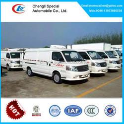 Foton view refrigerator van car,mini car refrigerator 1.5tons,gasoline engine for refrigerator cooling bus