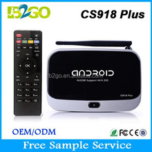 Original CS918 plus tv box RK3288 Quad Core android external tv tuner box wifi