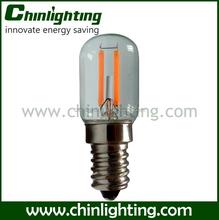 t22 tube led tubular filament bulb amusement t22 1.2w filament led light bulb 220v 110v 1.2w led filament lamp t22