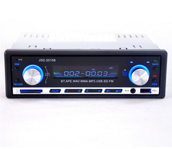 Car MP3 Brand New 12V BLUETOOTH 1-Din Stereo Radio MP3 USB/SD AUX Audio Player Car in Dash 60Wx4 for phone
