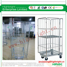 500kg loading capacity steel roll container