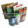 Para mantenerse en pie, material de cremallera PET,PE, aplicable AL natural y rápido de bebidas, alimentos de ocio.