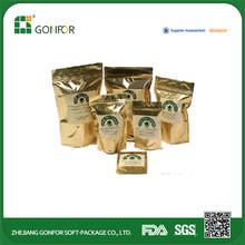 Zipper Bottom Gusset Waterproof Pyramid Tea Bag Silk tea bag empty tea bag with ziplock
