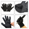 industrial level 5 anti-cutting high quality polyeser+Stainless Steel Wire Safety Cut Metal Mesh Butcher Anti-cutting gloves