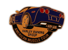 custom made metal car badges pin, military badge