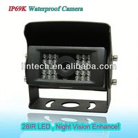 Wide view ccd night vision car camera for skoda superb with waterproof IP69K