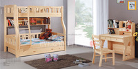 Hot Sale Furniture Solid Wooden Bunk Bed