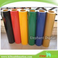 Easy weeding heat transfer pu vinyl wholesale for garment