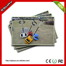 Newest type ES03 CE/RoHS/FCC approved chariot handicapped motor scooter with 2 front small wheels motorcycle