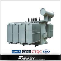 low losses dyn11 onan power line 60mva 110kv transformer
