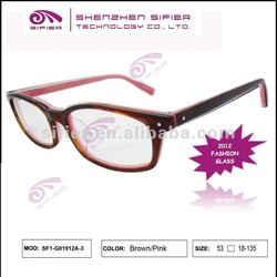 2012 Fashionable Shenzhen Acetate Optical Frames Limited Order accepted