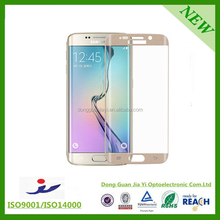 high quality tempered glass screen protector for samsung s6
