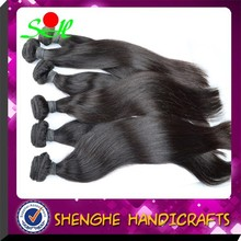 SH top sale brazilian straight hair for cheap ,unprocessed hair extension