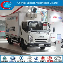 high popularity 4*2 mini freezer truck Top Sale 6 ton cold delivery truck 6000kgs refrigerated van and truck on sale