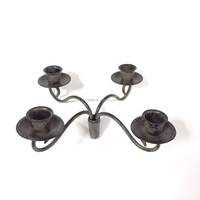 Wine Bottle Stopper Taper Candle Candelabra- 4 arms