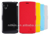 For LG Nexus 5 NILLKIN Fresh Mobile Protection Flip Leather Cover Case