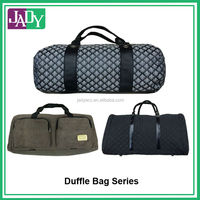 2014 New Design Travel Duffle Bag with leather handle
