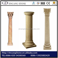 2015 hot selling natural stone or plastic pillars for decoration