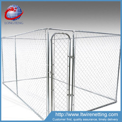 china lowest price chain link large dog cages / large dog house / dog box