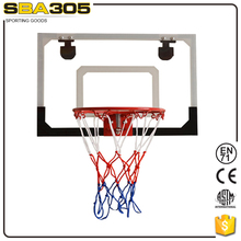 transparent solid acrylic baskeytball game equipment for sale