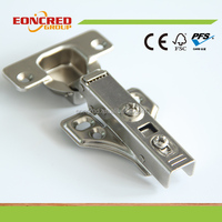 35mm Fixed On Slow Closing Door Hydraulic Hinge for Kitchen Cabinet (full overlay)