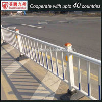 Hot-dipped Galvanized Temporary Fence /road railing