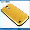 Gold chrome case for samsung galaxy s4, aluminum case for samsung galaxy s4