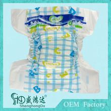 Super dry pañal popular marca de calidad común pampering del pañal del bebé
