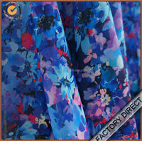 Beautiful pattern digital cotton floral poplin fabric in high quality