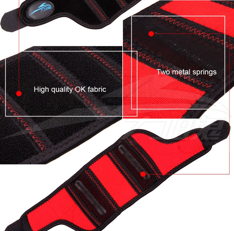 Wrist Support With 2 Metal Springs Sport Tennis