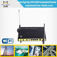 F3434 802.11n wifi router for bus wireless 3g car wifi router with sim card slot ethernet port DIN rail support Modbus VPN TCPIP