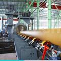 Tubos de acero de la máquina de granallado, tubería de la máquina de chorro de arena