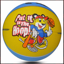 buy bulk colorful rubber basketball size 3 for kids