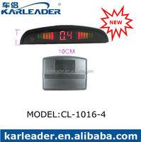 4 Ultrasonic Sensors LED display Distance Alarm Car K2 Radar Detector for Reversing System