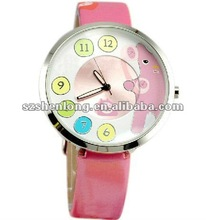 HOT stainless steel watch with super thinner Japan Quartz 5Y30