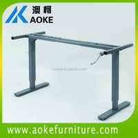 handling adjustable school desk frame in furniture