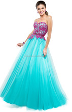 2015 New Ballgown Appliques Quinceanera Gowns Charming Tulle Corset Sweetheart Prom Dresses XP-41