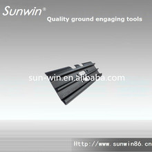 earth moving machinery undercarriage parts track pads for bulldozer
