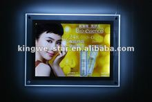 2012 hot Advertisement Double Faces Crystal LED light box