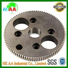 Good quality custom steel / stainless steel spur gear flywheel