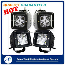 4 x Dually Cube 16W LED Spot Fog Driving Light For Off Road Bar Jeep Truck