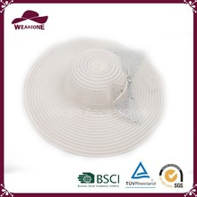 China manufacturer ladies white paper party hat