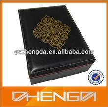 High quality customized made-in-china fine PU leather box for VIP Gifts(ZDJ13--291)