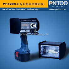 rechargeable inspection stroboscope for detecting coating defects