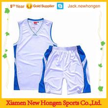 Make digital sublimation basketball jersey/basketball uniform/basketball wear