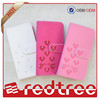 Wholesale cellphone case flip leather cover with bling diamond for s6
