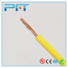 Flexible copper conductor PVC insulated electric wire direct sale