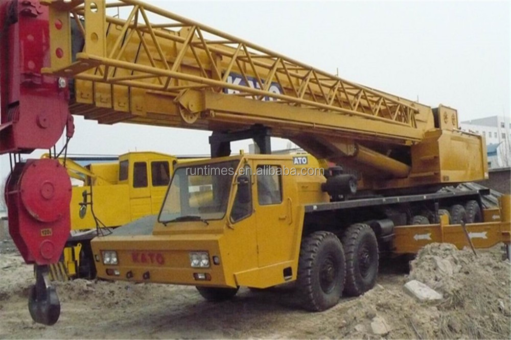 استخدمت شاحنة رفع/ 120 nk1200e رافعة هيدروليكية طن، تستخدم رافعة طن 120، استخدمت شاحنة رافعة كاتو طن 120